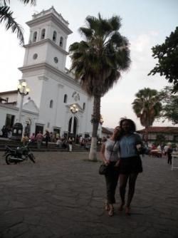 Dans la ville coloniale de Giron