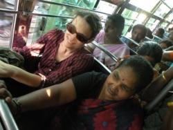 Dans le bus, Trichy