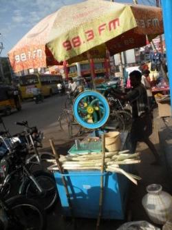 Jus de canne, Madurai