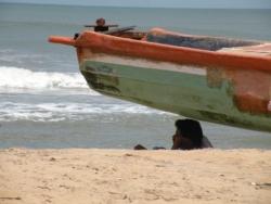Dormir sous la barque, Mamallapuram