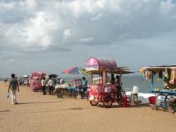 Bord de mer, Goubert Salai, Pondicherry