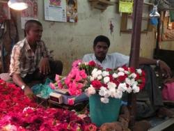 Marchand de fleurs, Pondy