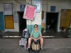 A la gare de Pondy