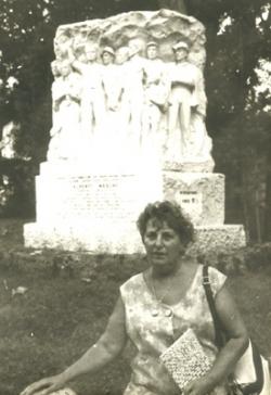 Chevet Suzy. Carrare (Italie) 1968. Congrès I.F.A.