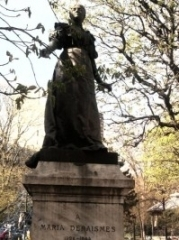 M. Deraismes. Statue