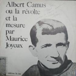 Maurice Joyeux. Disque, Editions La Rue