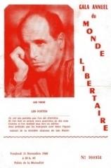 L. Ferré. Gala (11-11-1960)