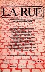 Revue La Rue n°11 (1971)
