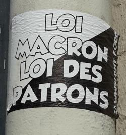 Affiche CNT. Paris 2017