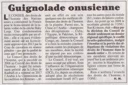 Le Canard enchaîné. 29-08-2018