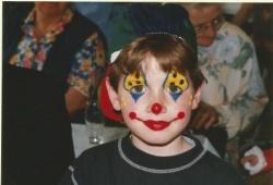 Avec les enfants en 1996