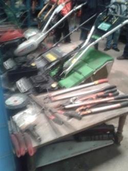 Machines et outils chez un pro