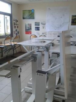 Salle de cours des élèves-paysagistes