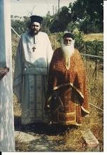 Père Ambroise Fontrier et Père Patric.