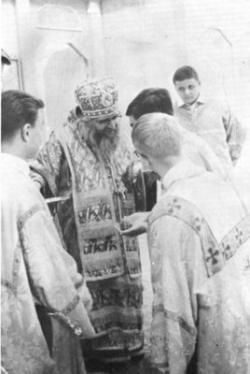 Saint Jean Maximovitch aux Etats-Unis
