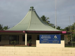 Eglise adventiste à Avarua