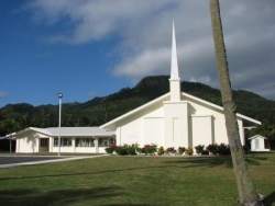 Temple mormon à Arorangi