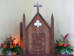 Pk 9,9 : tabernacle de Saint-Patrice