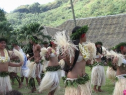 Accueil tahitien