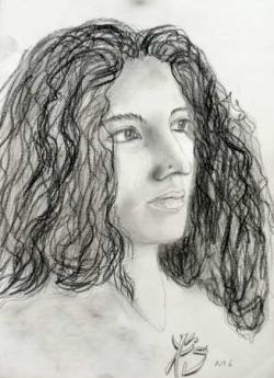 Portrait d'une inconnue