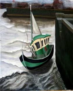 bateau honfleur 1977