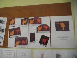 travaux d'écoliers