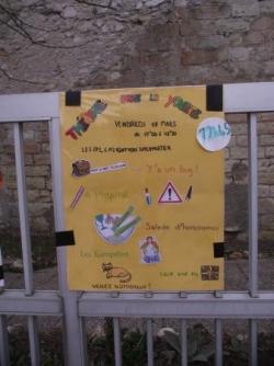 affiche des CM1-CM2