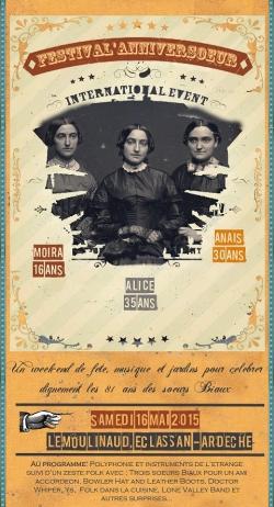 Première présentation au Fest'anniver'soeurs