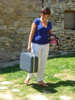 Alice et ses valises