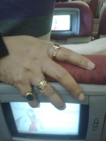 Why In India Most Men Wear Rings Indian Samurai इंडियन