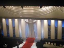 La scène du Grand Théâtre Lumière vue d'en haut (o