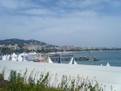Cannes vu de la salle du 60ème
