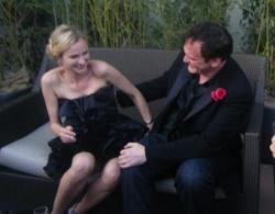 Diane Krüger et Quentin Tarantino