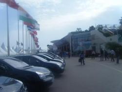 Les voitures officielles du festival
