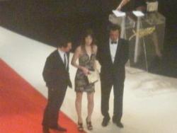 Charlotte Gainsbourg: prix d'interprétation fémini