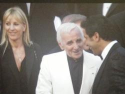 """Charles Aznavour pour la projection de """"Up"""""""