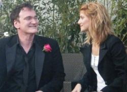 Quentin Tarantino et Mélanie Laurent