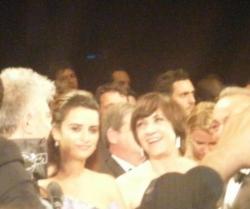 Penelope Cruz et Pedro Almodovar