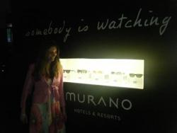 En direct de la villa Murano