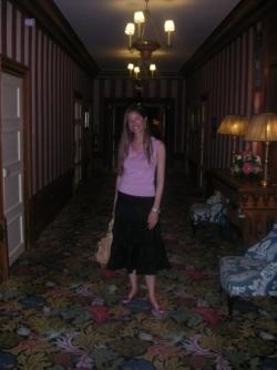 Dans les couloirs du Normandy