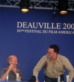 Steven Spielberg et Tom Hanks