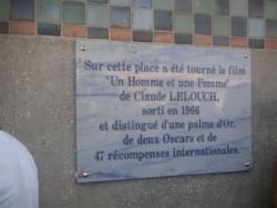 Place Claude Lelouch inaugurée en 2006