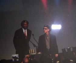 Régis Wargnier et Morgan Freeman