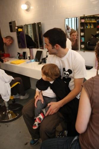 Sa premi re coupe toupie for Salon de coiffure pour homme