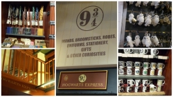 Harry Potter Shop, 9 3/4 in St Pancras, London