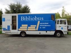 le camion dans son jus : ex bibliobus de la BDP du Doubs