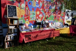 librairie ambulante Le Mokiroule à la Guinguette d