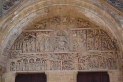 Le tympan de l'abbaye de Conques