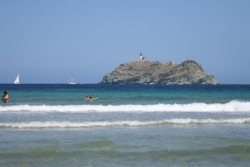 L'île de la Giraglie vue de Barcaggio