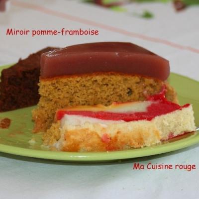Miroir pomme framboise ma cuisine rouge for Miroir framboise